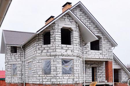 Утепление дома из пеноблока в Брянске