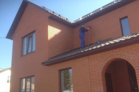 Утепление кирпичного дома в Брянске
