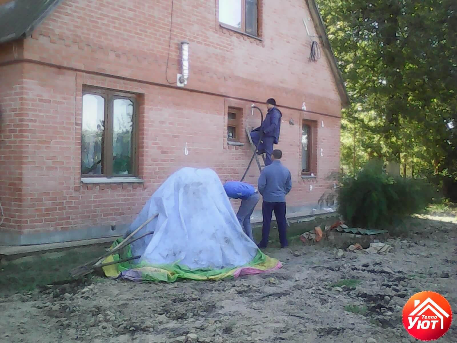 Утепление дома в п.Комаричи