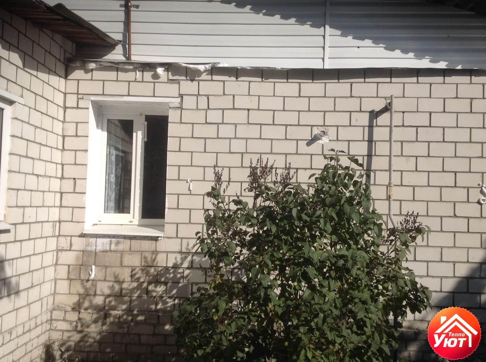 Утепелние Пеноизолом Дома в Полпино
